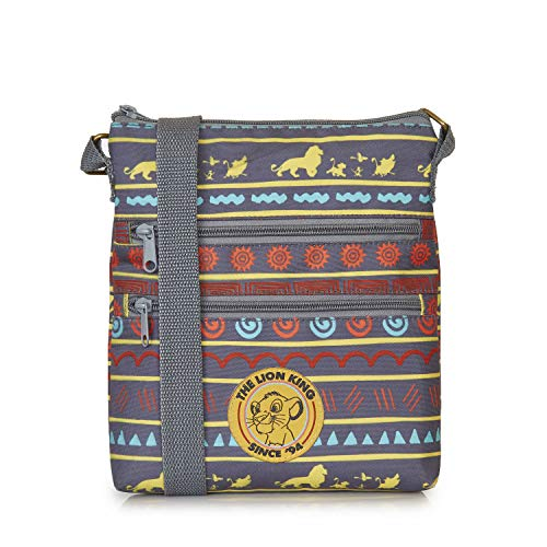 Disney Lion King Umhängetasche Damen, Kleine Handtasche Für Mädchen, Schultertasche Mit König Löwe Motiv und Simba Aufdruck | Handtasche Mit Schulterriemen | Geschenk Für Mädchen | Coole Sachen