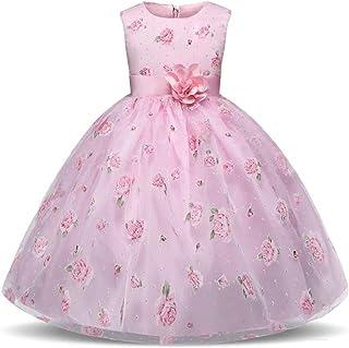 9d8535957 Amazon.es: Vestidos Para Damas De Honor - Niña: Ropa