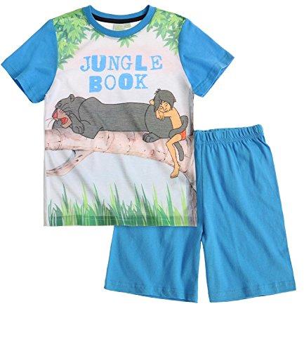 Disney Das Dschungelbuch Jungen Shorty-Pyjama - blau - 140