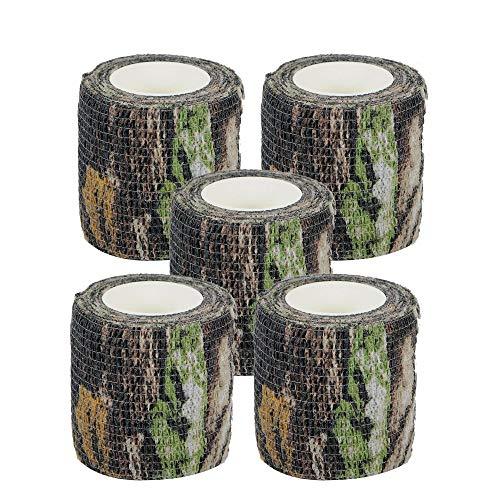 Camo Wrap Klebeband Militär Armee Camouflage Klebeband Klammer für Schrotflinten Jagd Camping, Selbs