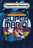 Composition Notebook: Super Mario Classic Retro Flying 1985 Graphic, Journal 6 x 9, 100 Page Blank Lined Paperback Journal/Notebook