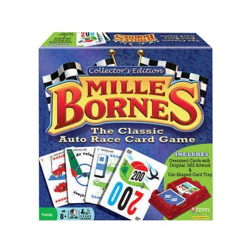 Mille Bornes Collector#039s Edition Card Game