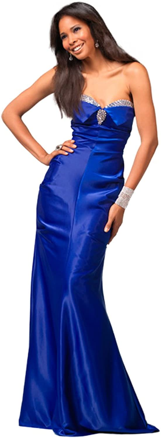 Clarisse Embellished Strapless Gown 1552