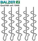 Balzer Shirasu Cork Screw - 5 Spiralen für Gummifische & Jigs, Schraubspiralen für Gummiköder,...
