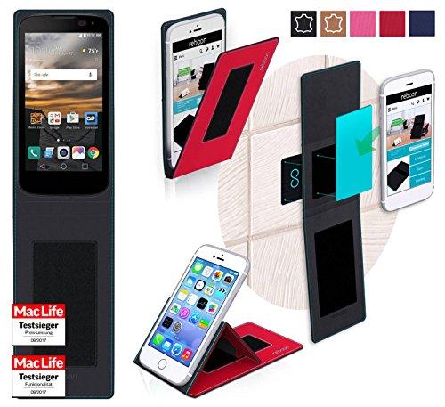 Hülle für LG K3 Tasche Cover Hülle Bumper   Rot   Testsieger