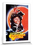1art1 Clockwork Orange - Peeling Bilder Leinwand-Bild Auf