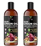 Luxura Sciences Onion Hair Oil For Hair Growth 500 ML(250ML*2) with 14 Essential