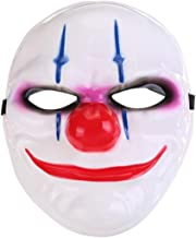 Halloween Mask Halloween Costume Cosplay Party Mask Ghost Mask Role Playing Mask for Halloween Cosplay Masquerade Party Mask