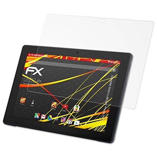 atFolix Schutzfolie kompatibel mit Medion LIFETAB P10356 MD99632 Displayschutzfolie, HD-Entspiegelung FX Folie (2X)