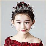 Adorno para el pelo para mujer, novia, coreano, accesorio para el pelo, corona grande, corona de princesa, nudo, boda, plateado