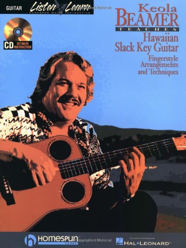 Keola Beamer Teaches Hawaiian Slack Key Guitar