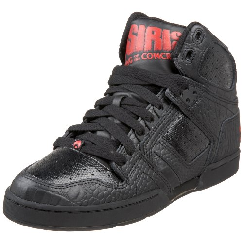 Osiris hombre Bronx Slim estilo de vida Zapatos, negro, 13 D(M) US