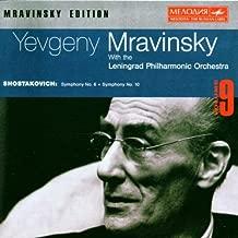 Shostakovich: Symphonies Nos. 6 & 10 Mravinsky Edition, Vol. 9