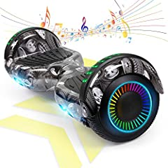 Safety Guarantee: (The Model Come with Free Bag)UL 2272 certified hoverboard have passed all crucial tests that under UL 2272 to ensure every part is completely safe won't go on fire and protect you and your family The hoverboard with bluetooth makes...