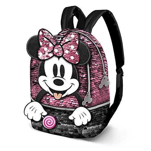 KARACTERMANIA Minnie Mouse Lollipop-Mochila Bouquet, Multicolor, Talla única