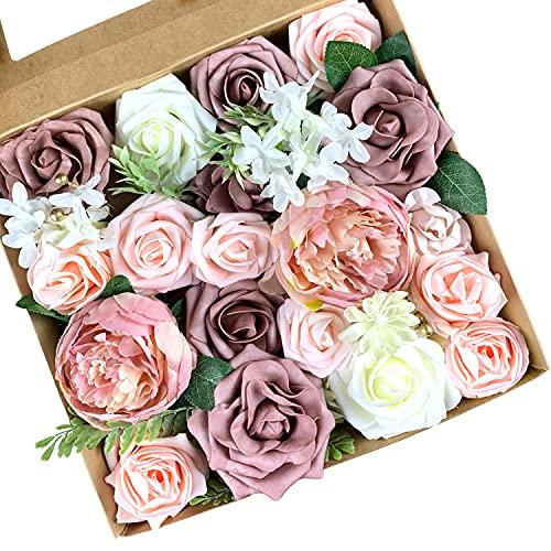 Roqueen Fleurs Artificielles Décorations De Mariage Fleurs R