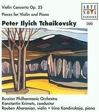 Violin Concerto / Three Pieces for Violin