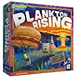 USAOPOLY Spongebob: Plankton Rising Cooperative Dice and Card Game   Featuring Artwork & Characters from Nickelodeon's Spongebob Squarepants Cartoon   Officially Licensed Spongebob Game