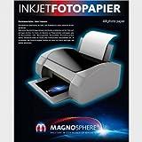 10 feuilles papier magnétique A4 - Printjet - Pour imprimante jet d'encre