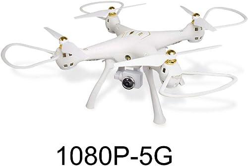 ERKEJI Drohne Drone Fernbedienung Quadcopter Lufüruck Feste H  Spielzeug Flugzeuge 1080P Echtzeitübertragung Luftbild WiFi FPV VR