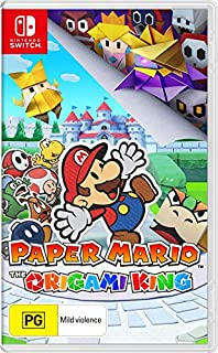 Paper Mario: The Origami King - Nintendo Switch (B088NTY7C5) | Amazon price tracker / tracking, Amazon price history charts, Amazon price watches, Amazon price drop alerts