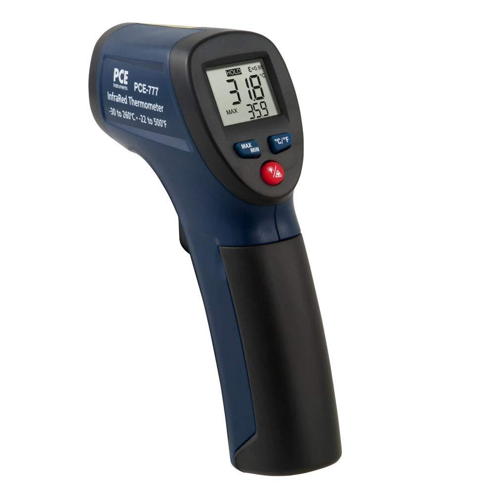 PCE Instruments Termómetro infrarrojo PCE-777N / Rango de medición: -30 ... +260 °C