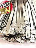 Lot of 8 ½ inches Long Metal Truck and Trailer Flat Head Security Seals - Metal Flat Head Seal – Flat Metal Seals – Flat Metal Seals (400 Pack)
