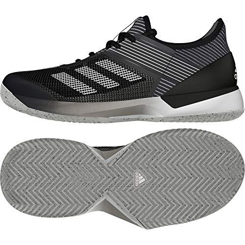 Adidas Adizero Ubersonic 3 w Clay, Zapatos de Tenis para Mujer, Core Black/FTWR White/Core Black