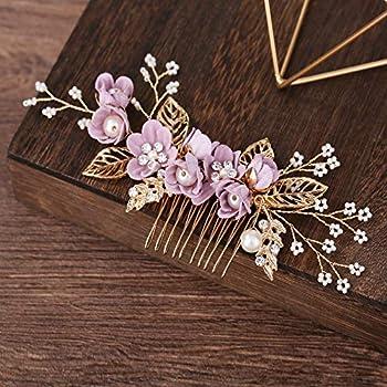 Best purple flower hair clip Reviews