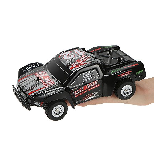 HSP Himoto 1:24 Off-Road 2WD Mini RC ferngesteuertes High Speed Monstertruck Buggy, 2.4GHz Digital vollproportionale Steuerung Top-Speed bis zu 25 km/h, Komplett-Set RTR