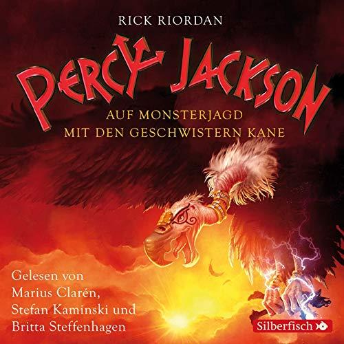 Percy Jackson - Auf Monsterjagd mit den Geschwistern Kane: 3 CDs