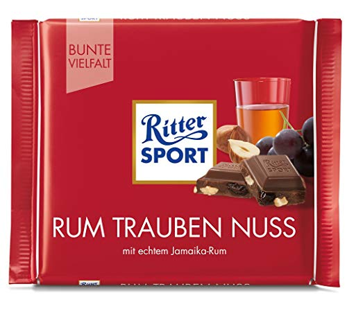 My german store - Ritter sport ron pasas de avellanas 100 g de chocolate