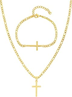 Best gold cross on chain Reviews