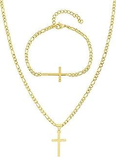 Best gold cross bracelet mens Reviews