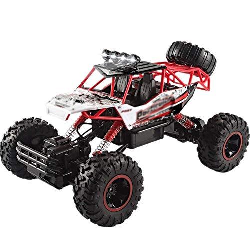 CYYDMM 4WD RC Coche,1:12 Off-Road Coche Teledirigido,2.4GHz RC Coche con Baterías 30 Min de Juego, Juguete Regalo para Niños Principiantes de 6 a 12 Años