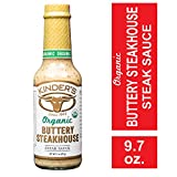 Kinder's Organic Buttery Steakhouse Steak Sauce; Creamy, Zesty Flavor Takes Steak to A Whole New...