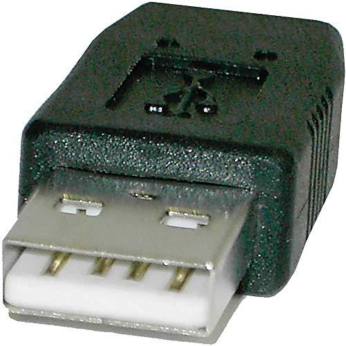 BeMatik - Adaptador USB (AM/MiniUSB5pin-M) Tipo B