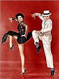 Poster 30 x 40 cm: Den Zug, von Links: CYD Charisse, Fred