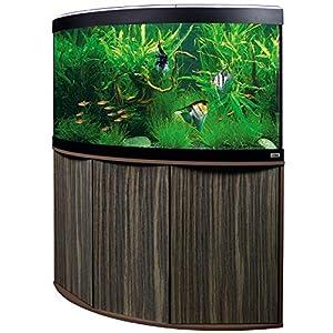 Aquariumkombination-Fluval-Venezia-190-Amazonas-mit-LED-Beleuchtung-Heizer-Filter-und-Unterschrank-dunkelbraun