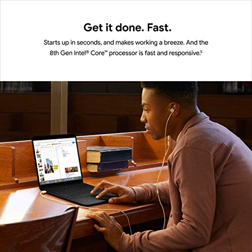 Google Pixelbook Go - Lightweight Chromebook Laptop - Up to 12 Hours Battery Life[1] - Touch Screen Chromebook - Just Black
