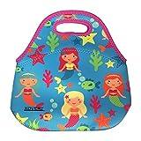KOVERZ - #1 Neoprene Lunch Bag, Outdoor Bag - CHOOSE YOUR STYLE! - Mermaids