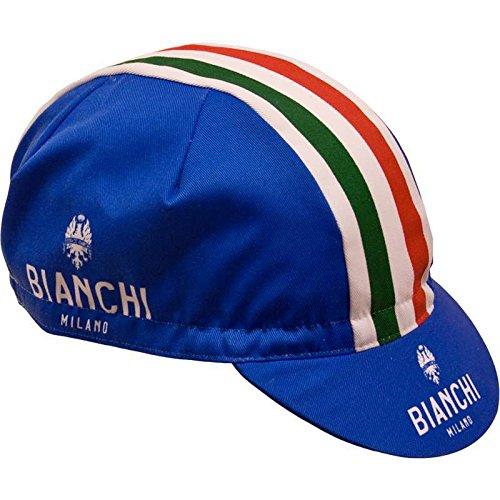Bianchi Milano Herren Neon World Champ Radsport-Mütze, weiß, Einheitsgröße