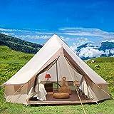 Massage-AED Tenda da Campeggio Yurta Famiglia Turismo Escursionistico Anti Zanzare Tende da Sole Tende da Pioggia Capannone Spiaggia Campeggio All'aperto Tenda 4 Stagioni di Grande Spazio