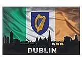 GRAZDesign Wanddeko Dublin - Türtapete Irland - Wandtattoo