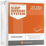HOSPITOLOGY PRODUCTS Zippered Box Spring Encasement - Sleep Defense System - Twin XL –38' W x 80' L