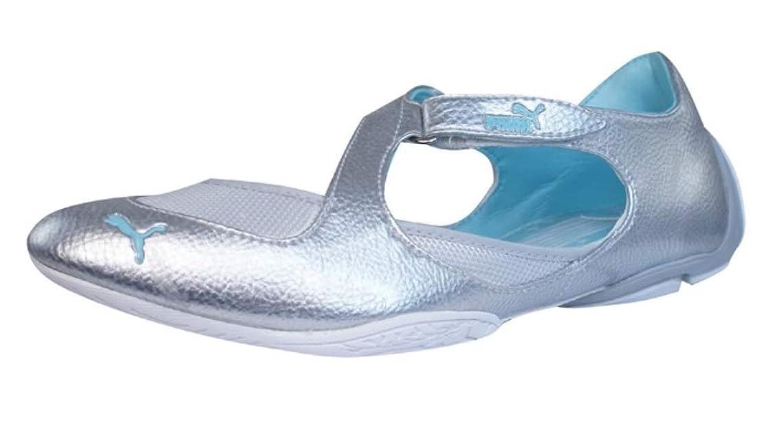 眩惑するナラーバーみなさんPuma En Pointe Womens Ballet Pumps/Shoes - Silver [並行輸入品]