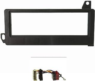 tomzz Audio 2407 005 Radioblende Set kompatibel mit Chrysler Jeep Voyager Cherokee Wrangler Neon Vision mit Radioadapter ISO