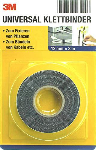 3M Universal Klettband Klettbinder 12 mm x 3,0 Meter