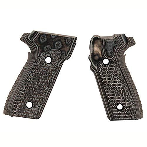 Hogue Sig P228/P229 Grips (Pirahna G-10 G-Mascus), Black/Grey