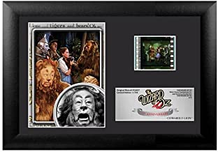 Wizard of Oz 75th Anniversary (Cowardly Lion) Mini FilmCell Presentation Filmcells Ltd